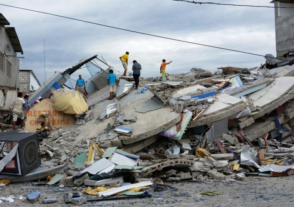 Maanjäristys on voimakkain, mitä Ecuadoriin on iskenyt kymmeniin vuosiin. © UNICEF Ecuador