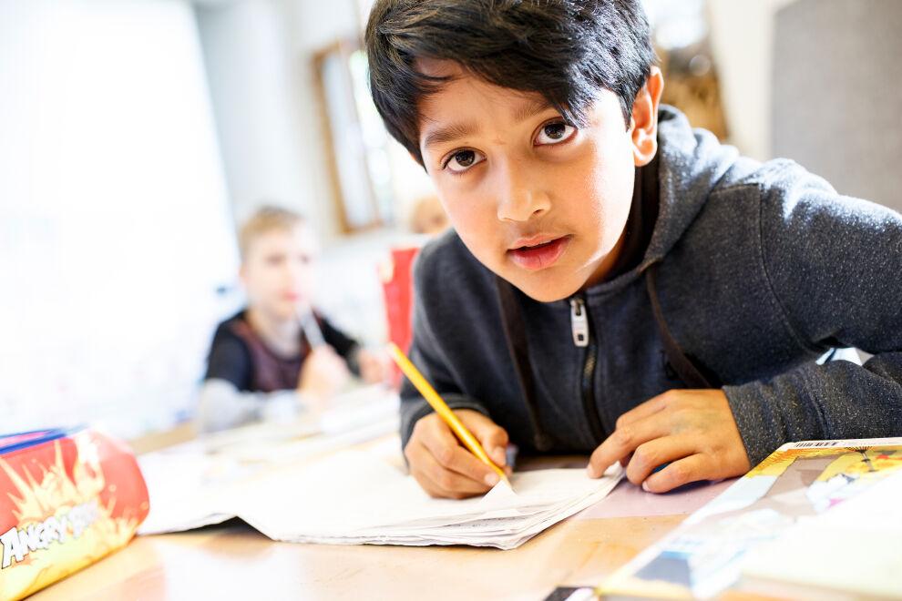 UNICEF toivoo kaikkien Suomen koululaisten saavan tänä keväänä Kympin todistuksen. © UNICEF/Suomi 2019/Hanna-Kaisa Hämäläinen