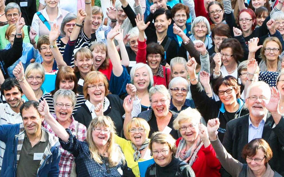 Suomen UNICEF järjestää joka vuosi vapaaehtoisille omia koulutuspäiviä, joissa vapaaehtoiset tapaavat ja kuulevat UNICEFin työstä. Kuva on vuoden 2011 syyspäiviltä Kirkkonummella.
