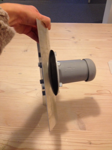 Innovation: elephant faucet.