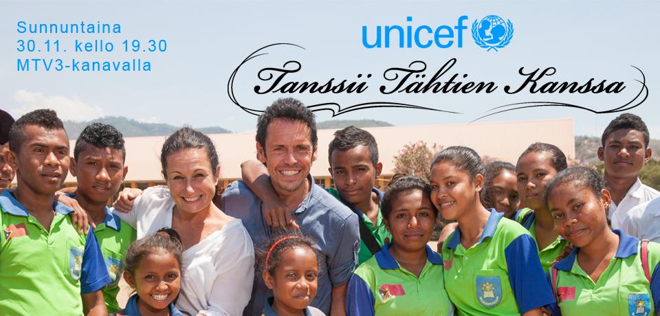 UNICEF Tanssii Tähtien Kanssa