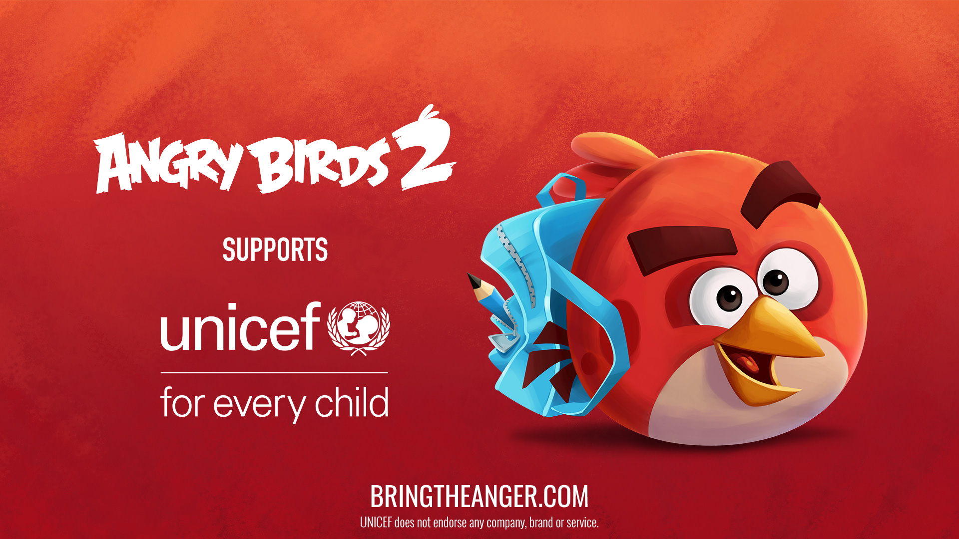 """Angry Birds 2 Supports UNICEF"""