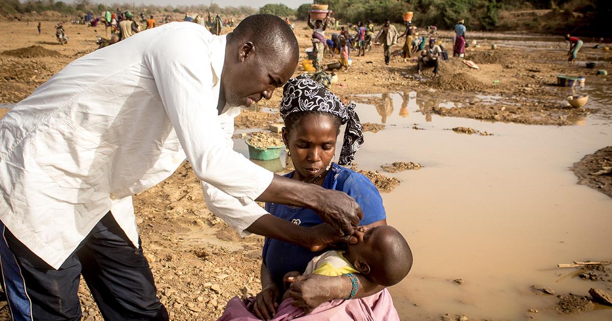 •Malin lasten rokotusohjelmasta vastaa maan terveysministeriö. UNICEF ja paikalliset kumppanit tukevat ohjelmaa.