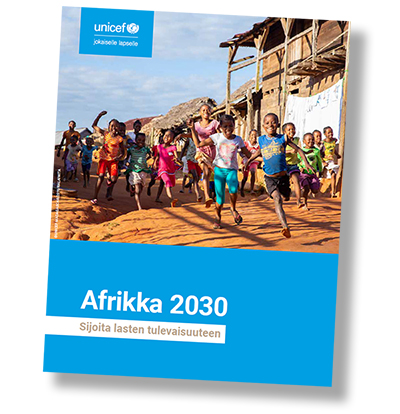 Afrikka 2030 -esitteen kansi