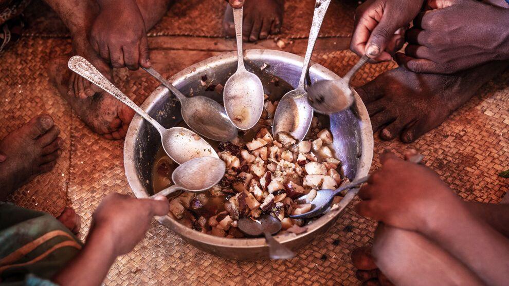 Madagaskarilla ruoasta on tullut luksusta. Kuva: UNICEF/UN0406818