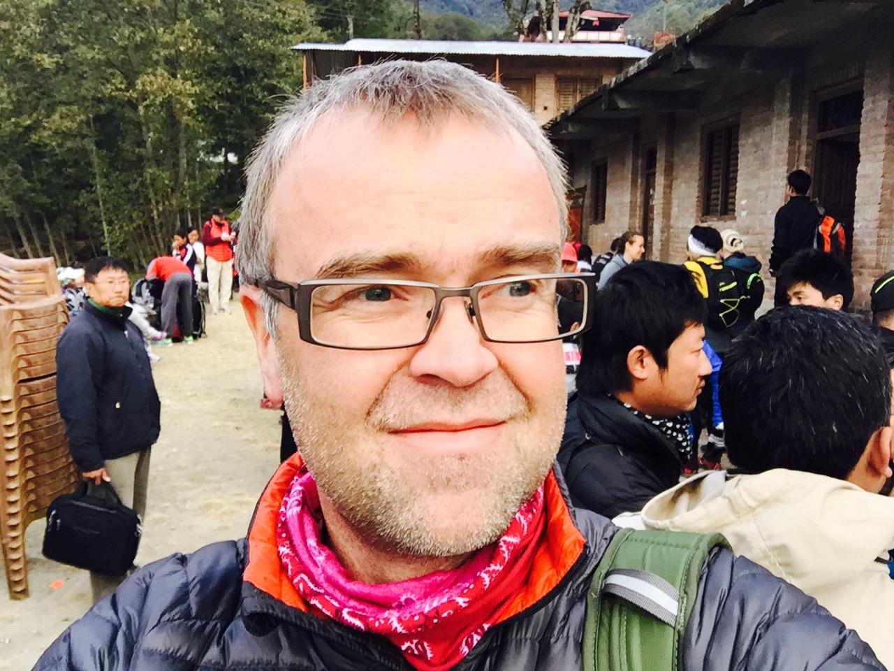 Antti Rautavaara työskentelee Nepalissa UNICEFin vesi- ja sanitaatiotyön johtajana.