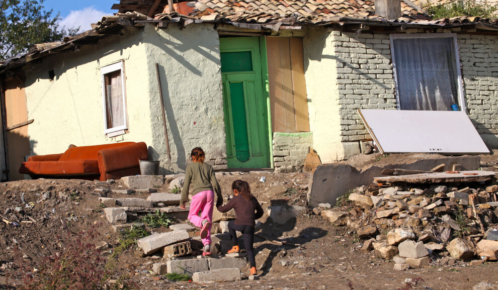 Bulgaria sijoittui UNICEFin tutkimuksessa häntäpäähän kestävän kehityksen toteuttamisessa lapsille. Kaikille rikkailla mailla oli kuitenkin parantamisen varaa. Kuvassa bulgarialaisia romanilapsia. © UNICEF/UNI154440/Pirozzi