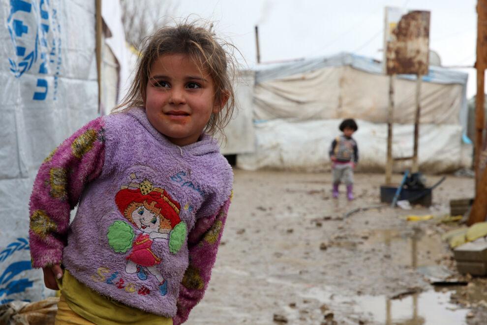 Syyrialainen pakolaistyttö Bekaan laaksossa Libanonissa. © UNICEF/UN07743/Kljajo