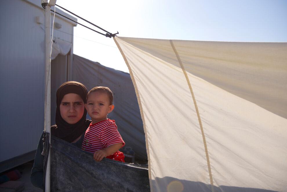 Zaatarin pakolaisleirillä asuu tällä hetkellä noin 85 000 ihmistä. © UNICEF/NYHQ2013-0567/Noorani