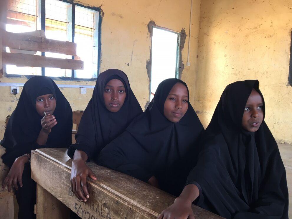 Nokian verkkoratkaisuja pilotoidaan Keniassa ensin viidessä koulussa syrjäisillä, kuivuuden ja konfliktien kurittamilla alueilla, muun muassa Garissassa. Kuva: Annika Launiala / UNICEF