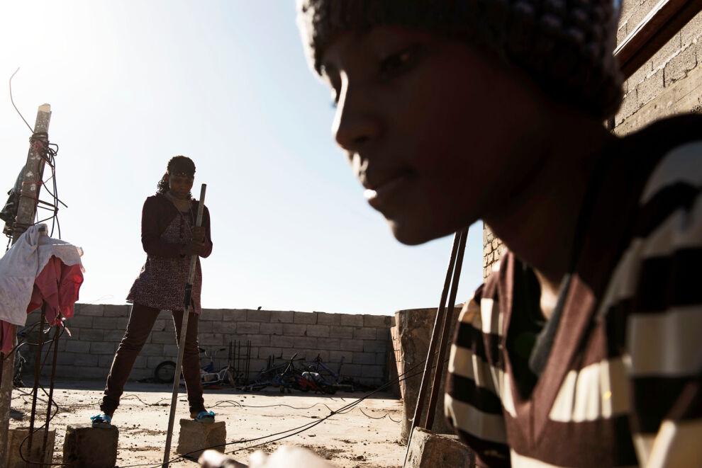 Kongosta paenneita lapsia Libyassa. © UNICEF/UN052790/Romenzi